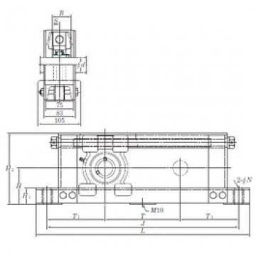 KOYO UCTU212-800 bearing units