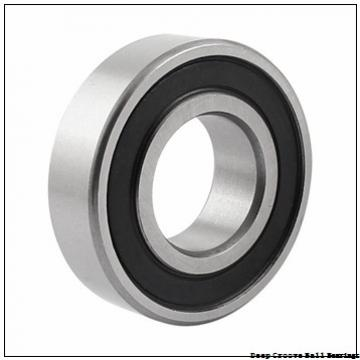 175 mm x 290 mm x 42 mm  NSK B175-1 deep groove ball bearings