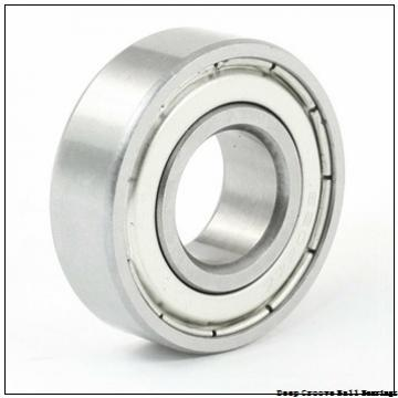 17 mm x 47 mm x 31 mm  ISO UC203 deep groove ball bearings