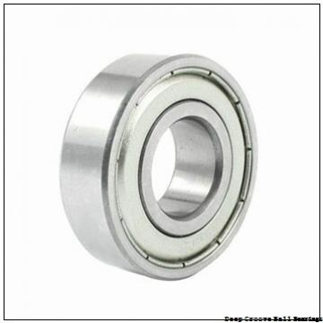 60,000 mm x 95,000 mm x 18,000 mm  NTN-SNR 6012Z deep groove ball bearings