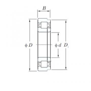 120 mm x 180 mm x 28 mm  KOYO NUP1024 cylindrical roller bearings